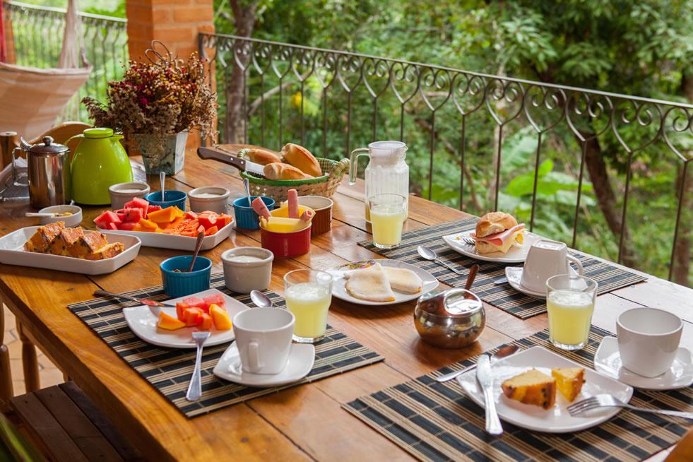 Pousada e Café da Manhã